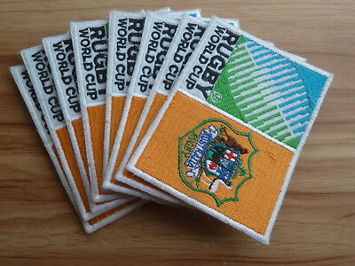 8 Australia RUGBY WORLD CUP sew-on Patches