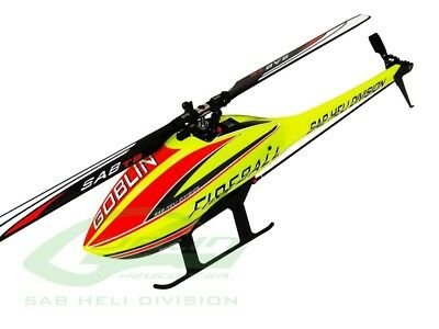 SAB SG280 GOBLIN FIREBALL 280 Helicopter (With Standard Motor And Blades)
