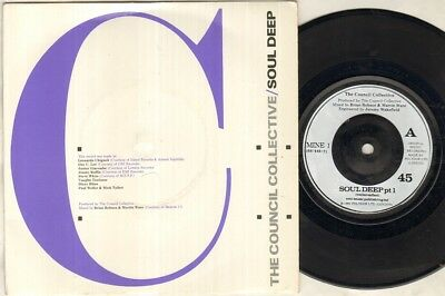 "STYLE COUNCIL COUNCIL COLLECTIVE Soul Deep  7"" Ps, B/W Soul Deep Pt 2, Mine 1"