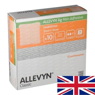Allevyn AG Non Adhesive Dressings | Choose Size & Quantity | TRUSTED UK SELLER