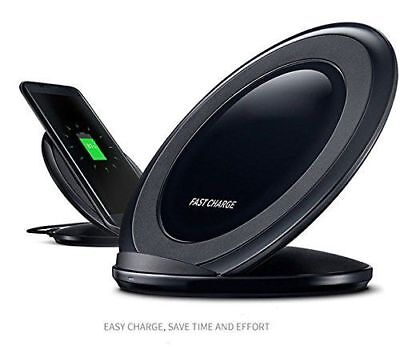 Wireless Charging Stand Fast Charger for iPhone X LG V40 Samsung Galaxy Note 8 9