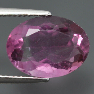 Flourite Naturale Purple ,ovale Ct. 7,51  Brillante
