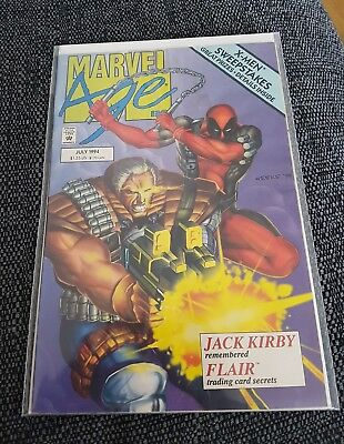 Marvel age 139 rare deadpool cable cover