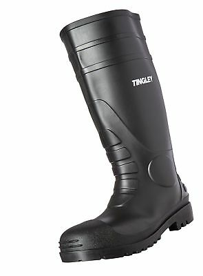 Tingley 31151 Economy SZ12 Kneed Boot for Agriculture, 15-Inch, Black 12