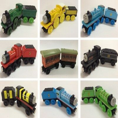 2pcs/set Thomas & Friends Train and Tender Wooden Magnetic Railway Model Toy