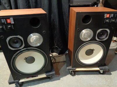 Estate*pair Vintage Htf Jbl 4411 Control Monitor Studio Monitor Speakers >U Tube