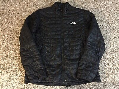 The North Face Men's ThermoBall Insulated Jacket L Large Black