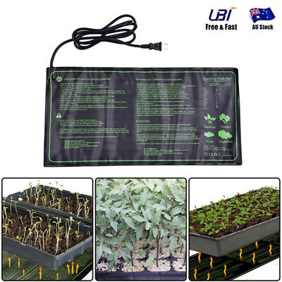 "10"" x 21"" 18W Heating Mat Pad for Reptile Brooder Incubator Pet Brew Seedling"