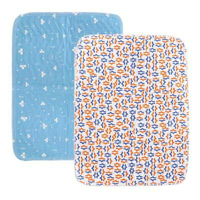 2x Washable Waterproof Underpad Incontinence Absorbent Pads Sheet Protector