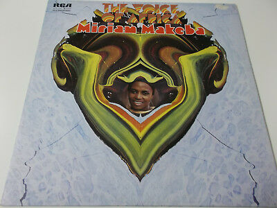 42100 - Miriam Makeba - The Voice Of Africa - Rca Vinyl Lp Made In Germany