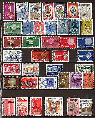 """ALL COUNTRIES Series postmarked : """"EUROPA"""" 311T1"""