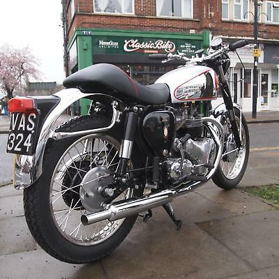 1956 BSA A7 SS 500 Classic Vintage Gold Star Replica With Big Alloy Head, WoW
