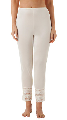 Velrose Nylon Long Pettipants with 3 Layer Lace