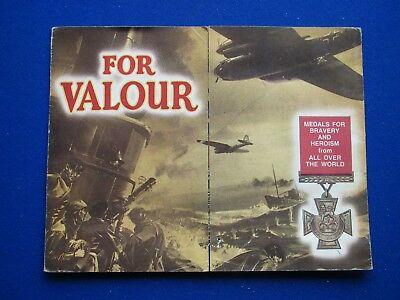 WARLORD comic Free Gift - For Valour  Medal Card   1974