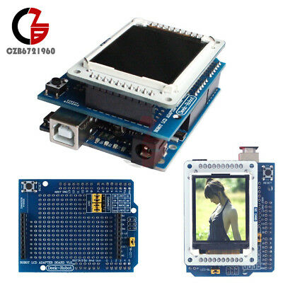 """1.8"""" inch TFT LCD Shiled Adapter Board for Arduino UNO TFTLCD Display IDE1.0.5"""