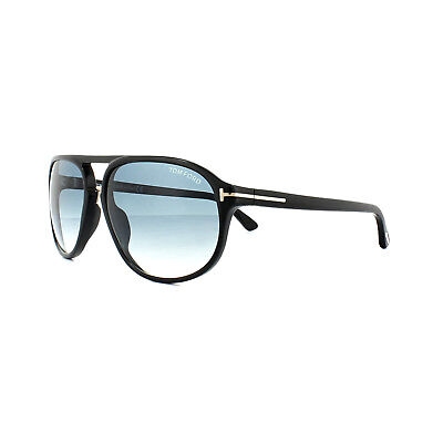 61887266a69 TOM FORD SUNGLASSES 0447 Jacob 01P Shiny Black Green Gradient - EUR ...