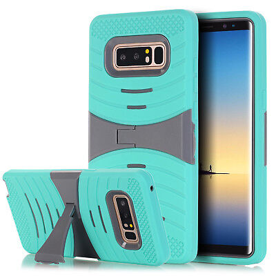 Hybrid KickStand For Samsung Galaxy Note 8 Full Cover Shockproof Armor Skin Case