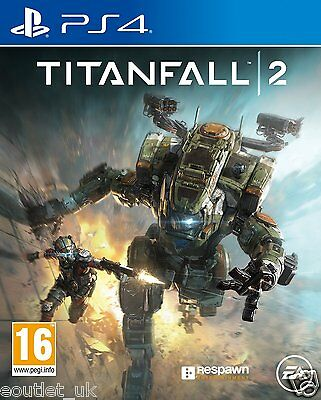 Titanfall 2 PS4 Game for Sony PlayStation 4 NEW SEALED UK PAL