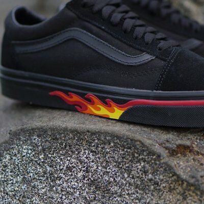 VANS OLD SKOOL FLAME WALL US UNISEX SIZES VN0A38G1Q8Q -  74.69 ... 01183000e