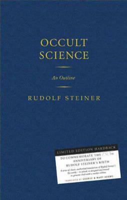 Occult Science: An Outline by Rudolf Steiner | Hardcover Book | 9781855842595 |