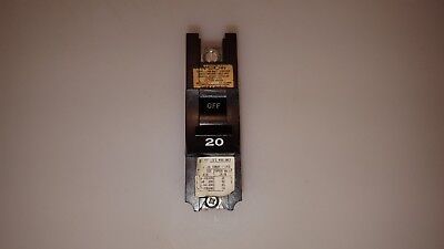 I-01A 20A .. NB120 ... * Federal  Pacific Bolt-on Breaker     1P..