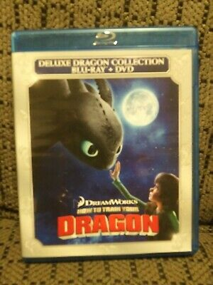 How to Train Your Dragon deluxe collection Blu-ray only in original Case,R1 ntsc