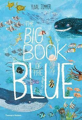 The Big Book of the Blue by Yuval Zommer Hardcover Book Free Shipping!