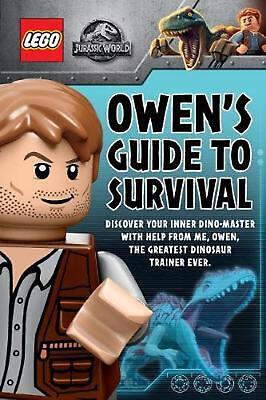 LEGO Jurassic World: Owen's Guide to Survival by Meredith Rusu Paperback Book Fr