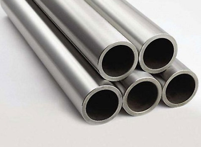 "Stainless Steel 316 Seamless Round Tubing, 3/4"" OD, 0.125"" Min Wall, 12"""