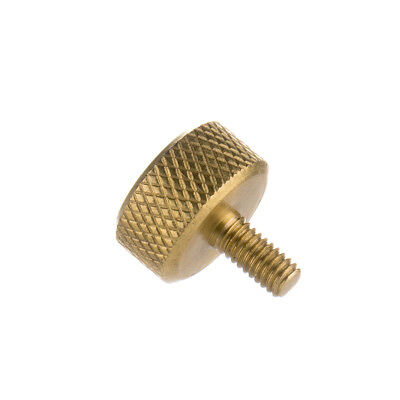 Lot of 25 Brass Thumb Vice Screws Knurled Tattoo Machine Part