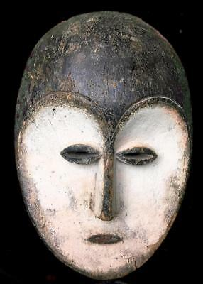 Old Tribal kwele Ceremonial     Mask  ---  Gabon BN 44