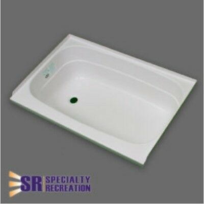 SPECIALTY RECREATION SP2432WR Shower Pan 24 X 32 White Right Hand Drain