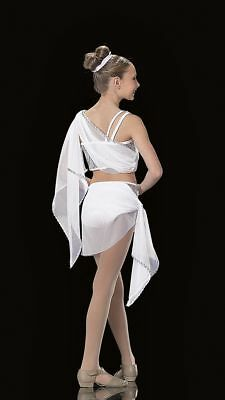 77112b773 IN STOCK GORGEOUS Contemporary Lyrical Two Piece Dance Costume Child ...