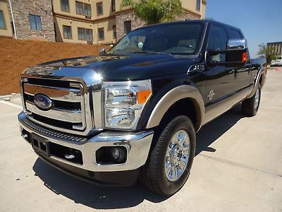 Ford Super Duty F-250 Pickup Lariat 2012 Ford SuperDuty F250 Lariat CrewCab 4x4 6.7L Powerstroke Turbo Diesel