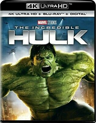 Incredible Hulk - 2 DISC SET (REGION A Blu-ray New)