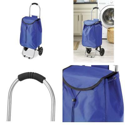 Foldable Stair Climb Rolling Trolley Cart Waterproof Shopping Grocery Climber
