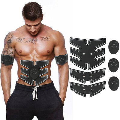 LOT ABS Simulator EMS Training Body Abdominal Muscle Exerciser AB & Arms NEW!