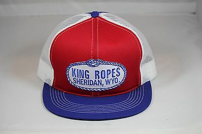 KING ROPES HAT Mesh Trucker Hat - Red White and Blue -  24.99  2ac7899d5635