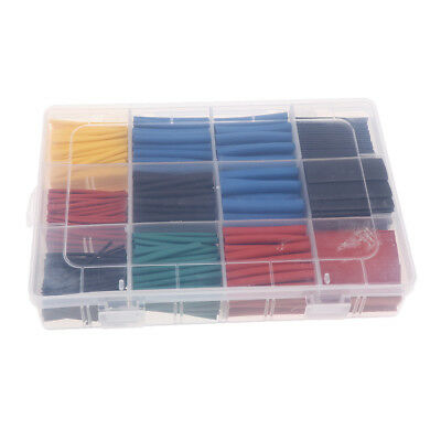 Heat Shrink Tubing 2:1 Electrical Wire Cable Wrap Assortment Tube Kit