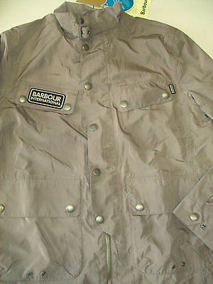 Barbour International Rainton Waterproof Jacket NWT Large (trim fit)  $349