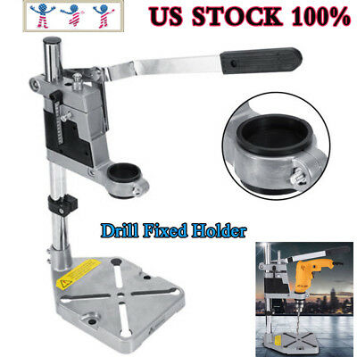 Adjustable Bench Top Mini Drill Press Holder Workbench Stand For Dril 43cm/38cm
