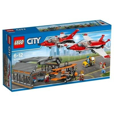 LEGO City Airport 60103 Large flugschau NEW Jets and Double Decker Toy