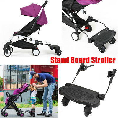 Universal Connector Toddler/Kid Sit Board Ride-On for Board Stroller/Pram