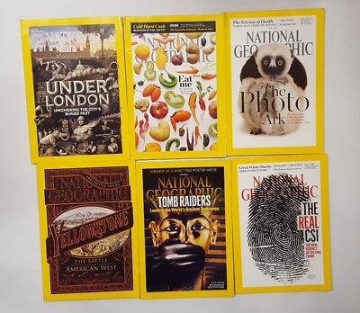 National Geographic Magazines 6 issues Feb-Jul 2016 (4)