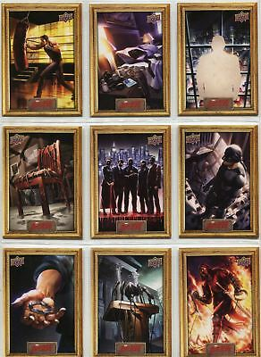 Daredevil Seasons 1 & 2 Complete Episodic Art Chase Card Set EA1-27