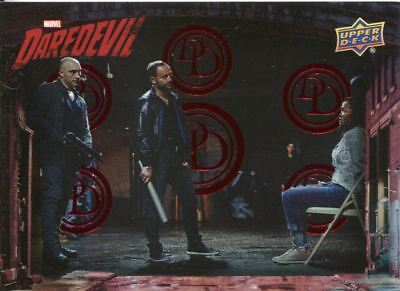 Daredevil Seasons 1 & 2 Red [299] Base Card #15 Claire Kidnapped