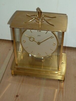 Vintage Kieninger & Obergfell (Kundo) Electronic Mantle Clock for spares