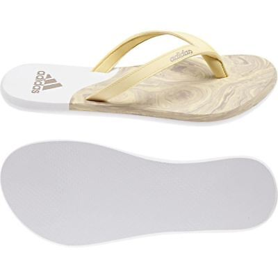 0c3eb6bc9b4c1 adidas EEZAY ICE CREAM THONG UK 9 SANDAL WHITE WOMEN S BEACH POOL SUMMER NEW