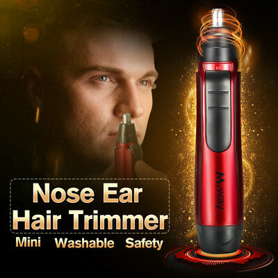 Electric Portable Women Men Nose Painless Face Facial Hair Body Removal Trimmer