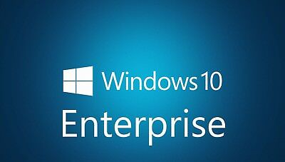 Key für Microsoft Windows 10 Enterprise MS Win 10 32/64 Bit Vollversion Deutsch